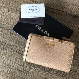 PRADA プラダ サフィアーノ 二つ折り財布 1MV204