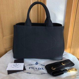 PRADA プラダ ロゴジャカード ハンドバッグ 1BG155