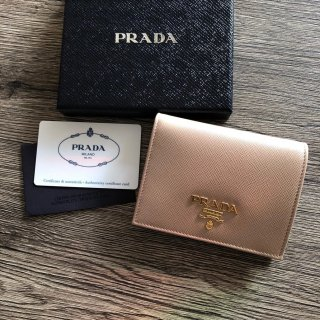 PRADA プラダ サフィアーノ 二つ折り財布 1MV205