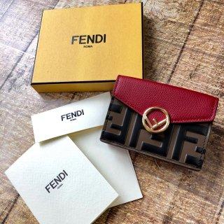 新品 FENDI FF エフイズフェンディ 三つ折り財布