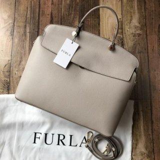 新品 FURLA フルラ マイパイパー M 2wayバッグ
