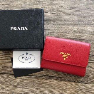 PRADA プラダ サフィアーノ 三つ折り財布