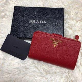 新品 プラダ PRADA 1ML225 レディース 二つ折り財布