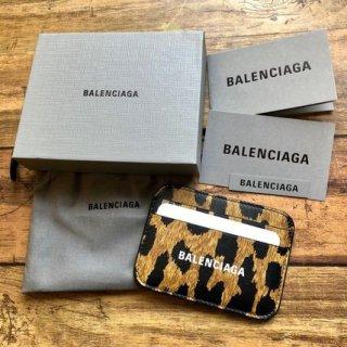 新品 バレンシアガ LEO PRINT カードケース