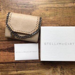 新品 ステラマッカートニー ファラベラ フラップ折財布