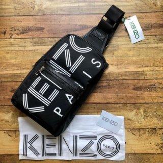 新品 Kenzo ケンゾー paris ロゴ ボディバッグ