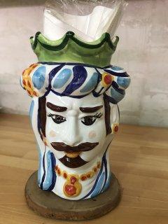 ROSA LINDA   シチリアの王様(キッチンスツール、花器)