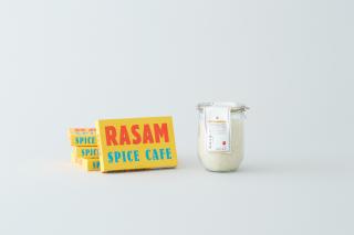 ラッサムカレーとオリジナルブレンド米のセット