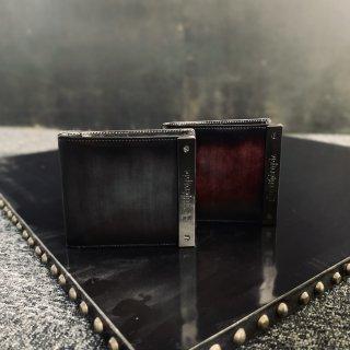 ATメタルプレートアドバン 二つ折り財布