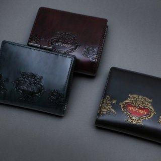 ローズジャルダン 二つ折りがま口財布