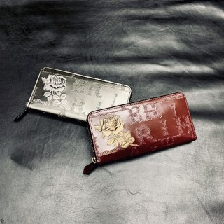 フィセルローズ ラウンドジップ長財布