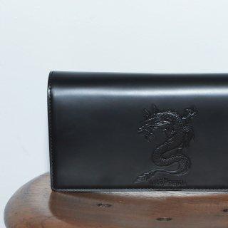 ATドラゴン かぶせがま口長財布