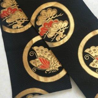 源氏蝶と松の袋帯