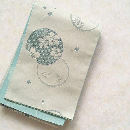 【新品】桜尽くしのリバーシブル半幅帯