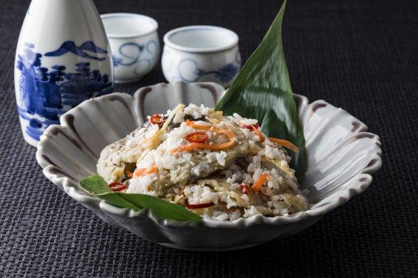 ほっけ飯寿司(礼文産)500g