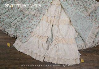 ロリータファッション Sweet Dreamer Vintage ブランド たっぷり フリル ドロワーズ ドロワーズのみ インナー 甘ロリ 姫ロリ リボン ロリータ loli1012