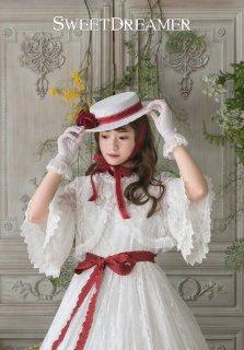 ロリータ Sweet Dreamer Vintage French純白 レースボレロ ボレロのみ 白ロリ 姫ロリ ゴスロリ カーデ