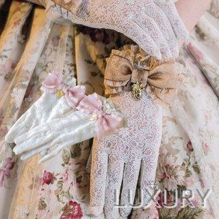 【ポスト投函対応】ロリータ Sweet Dreamer Vintage 花鏡の旅 リボンレースグローブ グローブのみ 一対 甘ロリ クラロリ 花嫁