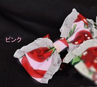 ロリータ Lulu's garden Big strawberry カチューシャ KC カチューシャのみ ジャンスカ別売り 甘ロリ loli1340