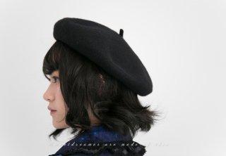 ロリータ Sweet Dreamer Vintage ベレー帽 カシミアタッチ クリップで固定 画家 クラシカル 帽子 クラロリ loli1466