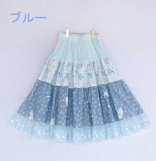 ロリータ Sweet Dreamer Vintage 夏のひらひら ロングスカート 受注生産 スカート ボトムス カジュアル 森ガール loli1470