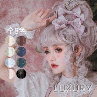 【受注生産】NyaNya 十六夜の歌姫 大きめレース クラシカル チョーカー パール 可愛い チャーム 刺繍