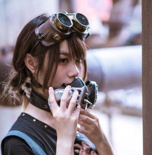 スチームパンク マスク steampunk シルバー 小物 雑貨  アクセサリ ゴスロリ ロリータファッション loli2135