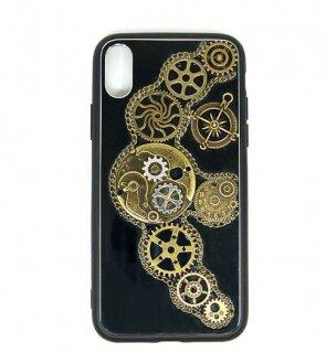 スチームパンク スマホケース iPhoneX 10 ユニセックス ギア ハードケース ハンサム カジュアル ロリータファッション loli2225