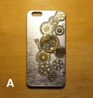 スチームパンク スマホケース iPhone6plus ユニセックス ギア かっこいい ハンサム カジュアル ロリータファッション loli2227
