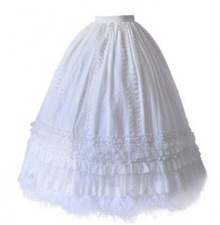ロリータ ペチコート インナースカート 大きいサイズ サイズ豊富 通年 エレガント 甘ロリ ロング マキシ ふんわり お姫様 姫ロリ かわいい ボリューム レイヤード 重ね着 スカート ボトムス