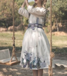 エプロンスカート 花柄 春夏 サロペットスカート かわいい ミディアム フレア Aライン プリント フラワー エレガント 甘ロリ きれいめ 森ガール おしゃれ 大きいサイズ サイズ豊富 人気 撮影