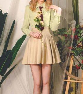 【納期25日】プリーツスカート ミニ 春夏 無地 着回し ベージュ フレア 美脚 美シルエット スタイルアップ 上品 フェミニン かわいい おしゃれ ふんわり 大きいサイズ サイズ豊富 デート おでか