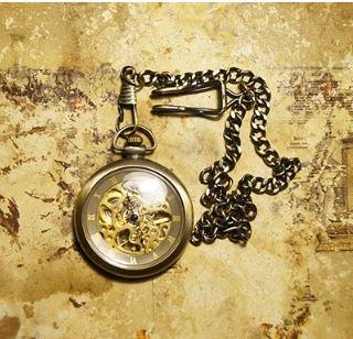ロリータ ペンダント 懐中時計 チェーン アクセサリ 小物 雑貨 レトロ オシャレ 通年 ロリータファッション