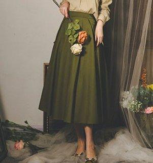 ロングスカート2色 ロング フレア きれいめ 秋冬 無地 着回し かわいい 大人 エレガント 上品 お呼ばれ デート おでかけ ボトムス シンプル 大きいサイズ サイズ豊富 セミロリータ