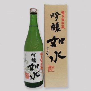 【清酒15度】 石蔵酒造 吟醸如水 720ml 箱入 【九州 福岡 日本酒】