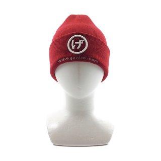ニット帽(赤)