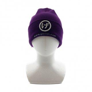 ニット帽(紫)