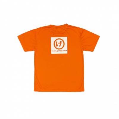 半袖ドライTシャツ 橙(Orange)