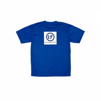 半袖ドライTシャツ 青(Blue)