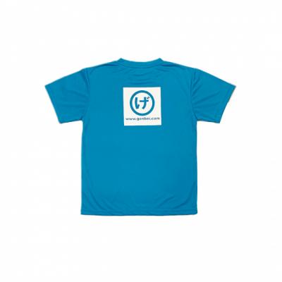 半袖ドライTシャツ 水色(SkyBlue)