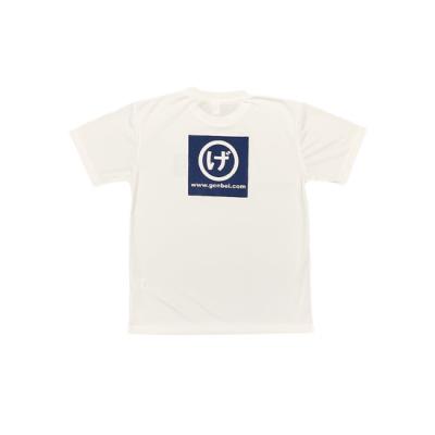 半袖ドライTシャツ 白(White)