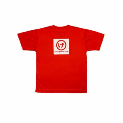 半袖ドライTシャツ 赤(Red)