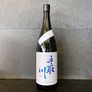 手取川 純米吟醸生原酒 シャキッと辛口 1800ml