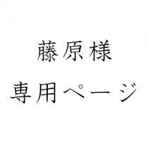 藤原様 専用ページ