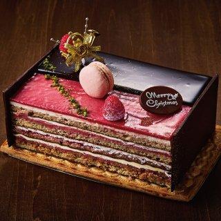 【クリスマスケーキ】ショコラティエ&苺のオペラ(限定100個)