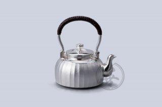 善兴 纯银 汤沸4寸 立筋 付茶滤