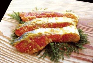 甘塩鮭西京漬