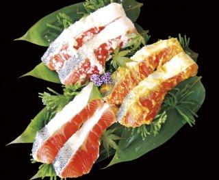 甘塩鮭盛り合わせセット
