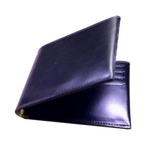 二つ折り財布 KAWAORIGAMI ブラック&ゴールドモデル カードウォレット