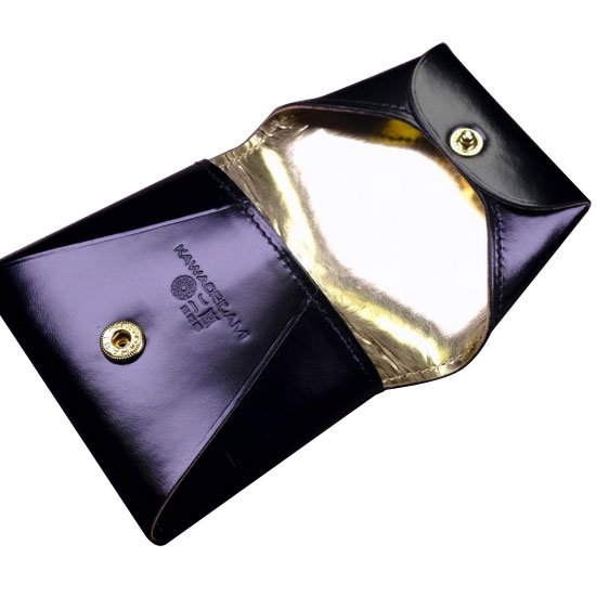 KAWAORIGAMI ブラック&ゴールドモデル コインケース【画像3】
